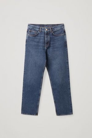 RELAXED-FIT JEANS COS. Цвет: синий