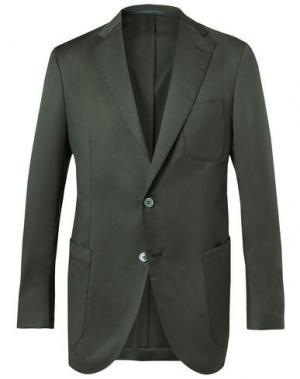 Пиджак P.JOHNSON. Цвет: темно-зеленый