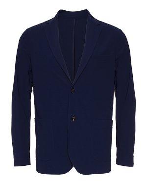 Пиджак CHELSEA.737 46 синий CRUNA. Цвет: синий