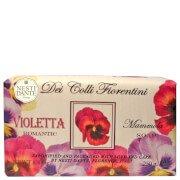 Цветочное мыло «Фиалка душистая» Dei Colli Fiorentini Sweet Violet Soap 250 г Nesti Dante