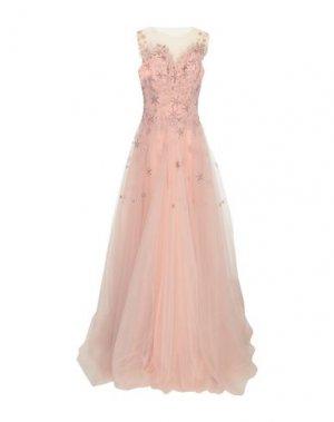 Длинное платье LEXUS. Цвет: светло-розовый