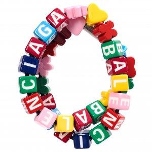 Разноцветный чокер Toy Balenciaga