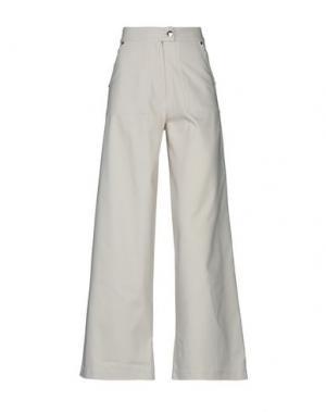 Повседневные брюки LORELLA SIGNORINO. Цвет: бежевый