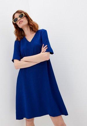 Платье Gerard Darel. Цвет: синий