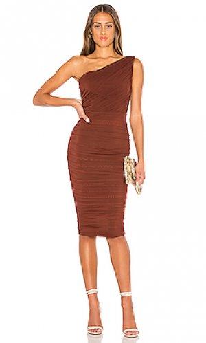 Платье inspire Nookie. Цвет: коричневый