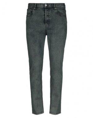 Джинсовые брюки JUST CAVALLI. Цвет: темно-зеленый