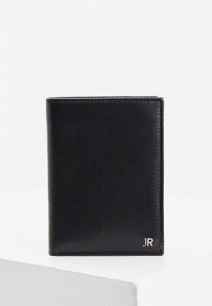 Кошелек John Richmond. Цвет: черный