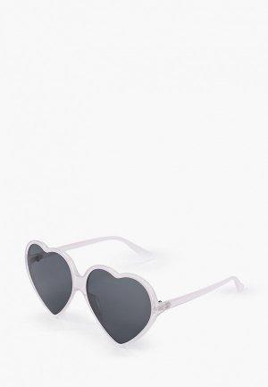 Очки солнцезащитные Keddo. Цвет: белый