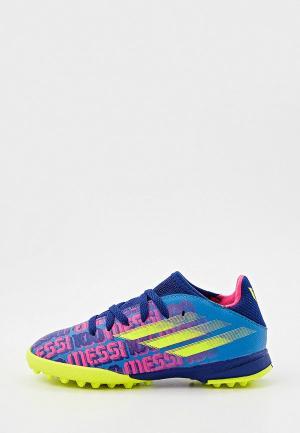 Шиповки adidas X SPEEDFLOW MESSI.3 TF J. Цвет: синий