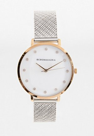 Часы BCBGMaxAzria. Цвет: серебряный