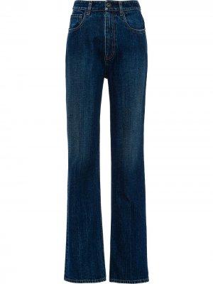 Straight-leg jeans Prada. Цвет: синий