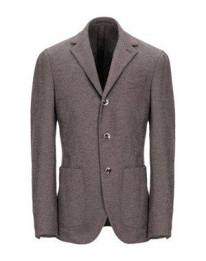 Пиджак CANTARELLI JERSEY PLANET. Цвет: коричневый