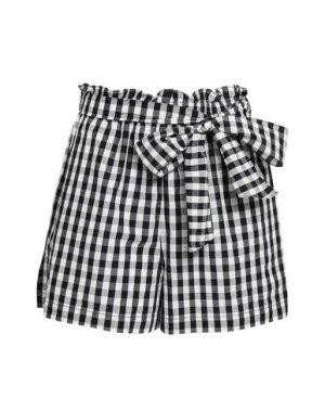 Повседневные шорты JOIE. Цвет: черный