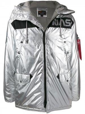 Куртка N-3B NASA Alpha Industries. Цвет: серый