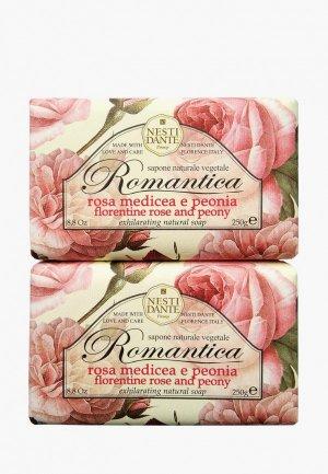 Набор для ухода за телом Nesti Dante Мыло Florentine Rose & Peony / Флорентийская роза и пион, 2*250г. Цвет: разноцветный