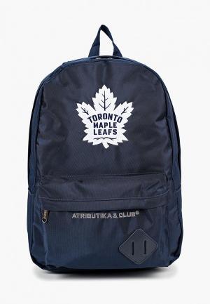 Рюкзак Atributika & Club™ NHL Toronto Maple Leafs. Цвет: синий
