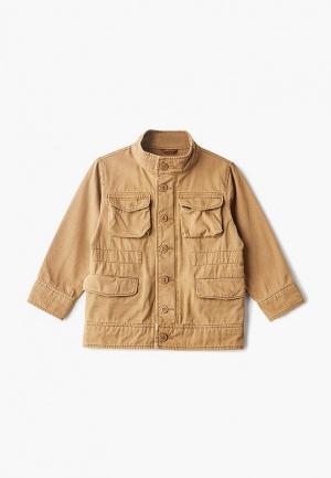 Куртка Gap. Цвет: коричневый
