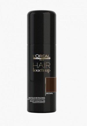 Консилер LOreal Professionnel L'Oreal Hair Touch Up коричневый, 75 мл.. Цвет: коричневый