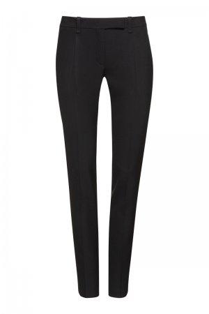 Зауженные брюки со стрелками VASSA&Co. Цвет: черный