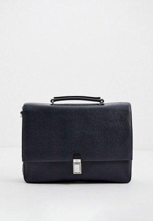 Портфель Cavalli Class. Цвет: синий