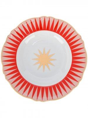 Маленькая тарелка Baleno Bitossi Home. Цвет: белый