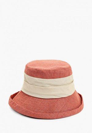 Шляпа Dispacci. Цвет: коралловый