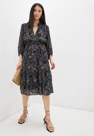 Платье Gerard Darel. Цвет: черный
