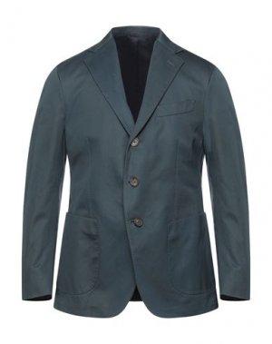 Пиджак DOPPIAA. Цвет: темно-зеленый