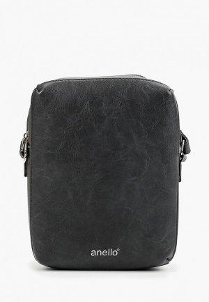 Сумка Anello. Цвет: серый