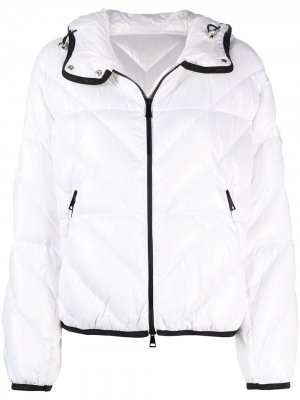 Brouel quilted jacket Moncler. Цвет: белый