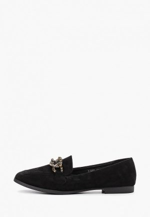 Лоферы Ideal Shoes. Цвет: черный