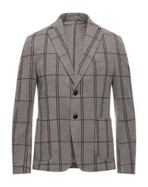 Пиджак EXIBIT. Цвет: темно-зеленый