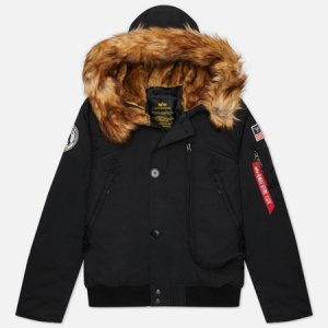 Мужская куртка Polar SV Alpha Industries. Цвет: чёрный