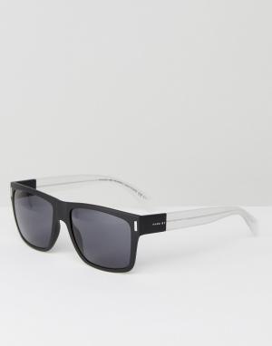 Солнцезащитные очки с квадратной оправой Marc By Jacobs. Цвет: черный