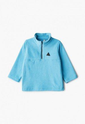 Олимпийка Lien. Цвет: голубой