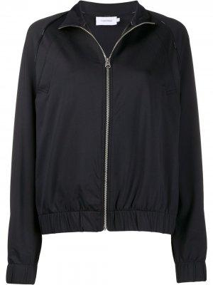 Куртка Milano из джерси на молнии Calvin Klein. Цвет: черный