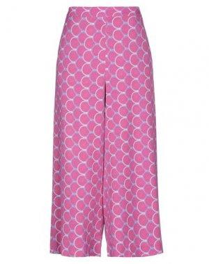 Повседневные брюки NOLITA. Цвет: фуксия