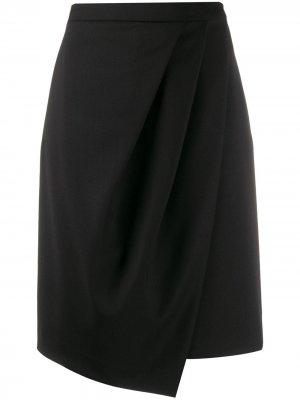 Юбка-тюльпан Karl из коллаборации с Carine Lagerfeld. Цвет: черный