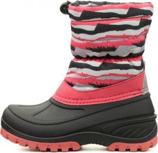 Сапоги утепленные для девочек Tundra, размер 29 LASSIE. Цвет: розовый