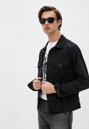 Куртка джинсовая Iro. Цвет: черный