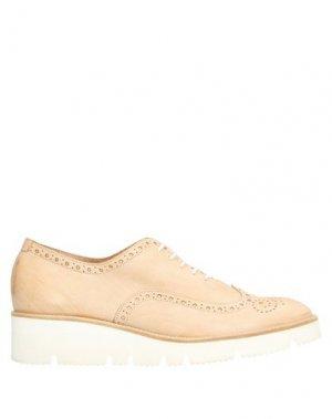 Обувь на шнурках GUGLIELMO ROTTA. Цвет: песочный