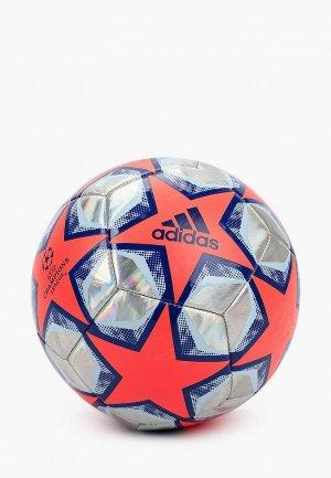 Мяч футбольный adidas FIN 20 TRN FOIL. Цвет: разноцветный