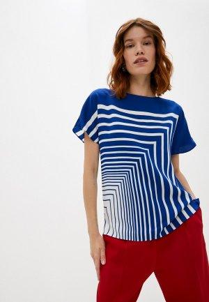 Блуза Boss Ivanka. Цвет: синий
