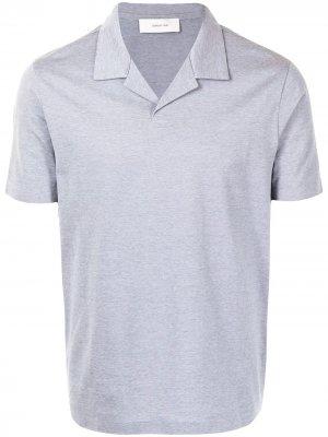 Рубашка поло с короткими рукавами Cerruti 1881. Цвет: серый