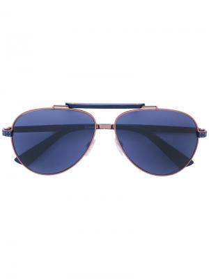 Солнцезащитные очки DL0238 Diesel. Цвет: синий