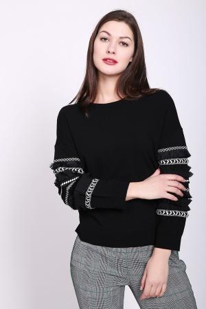 Пуловер Taifun. Цвет: чёрный