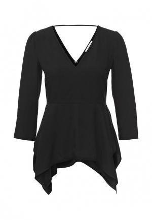 Блуза Patrizia Pepe. Цвет: черный