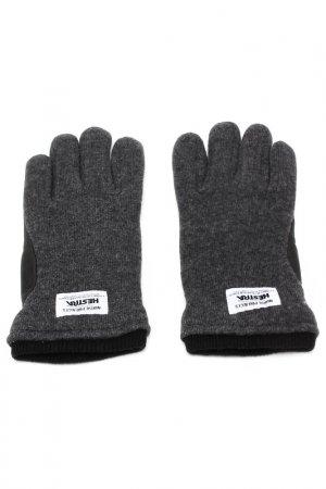 Перчатки NORSE PROJECTS. Цвет: серый