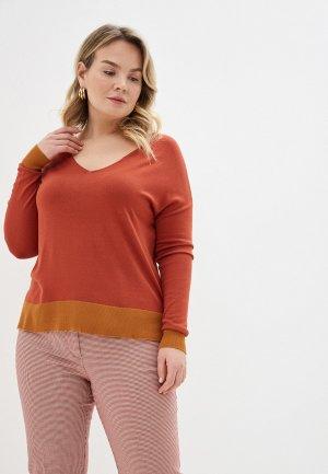 Пуловер Violeta by Mango - LISA. Цвет: коричневый