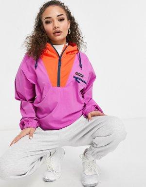 Розовая куртка-анорак Wind Shirt-Фиолетовый Berghaus